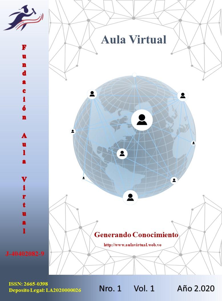 Ver Vol. 1 Núm. 1 (2020): AulaVirtual