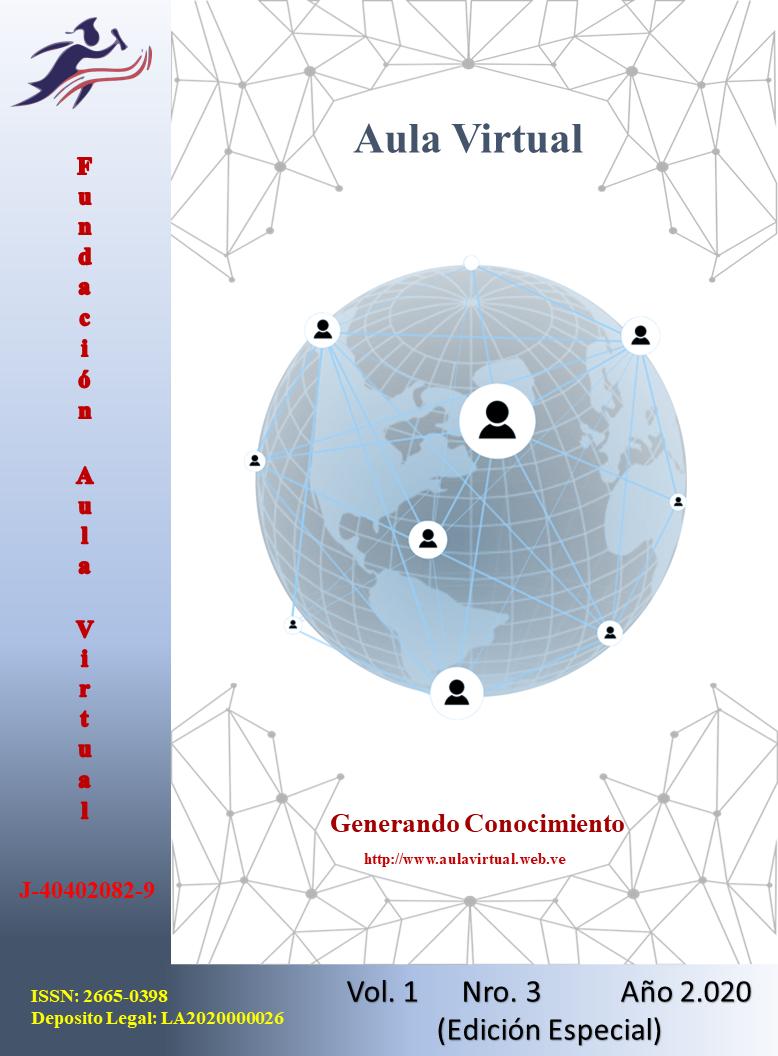 Ver Vol. 1 Núm. 3 (2020): Aula Virtual (Edición Especial)